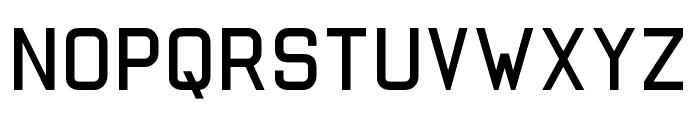 Autobabahn Font LOWERCASE