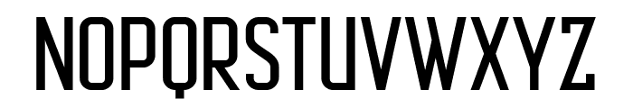 AutobusBold Font UPPERCASE