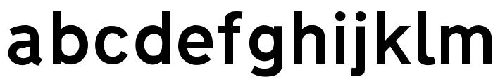 Autocars & Rolling Bikes Regular Font LOWERCASE
