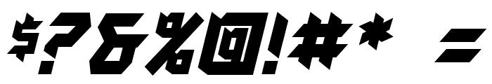 AutodestructBB-Bold Font OTHER CHARS