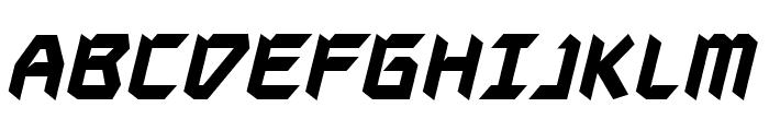 AutodestructBB-Bold Font UPPERCASE