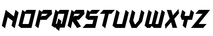 AutodestructBB-Bold Font LOWERCASE