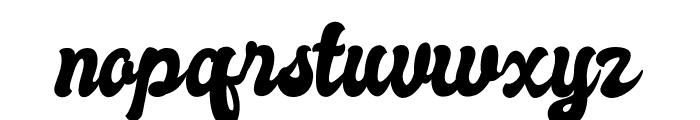 Autolova Font LOWERCASE