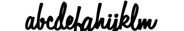 Automobile Font LOWERCASE