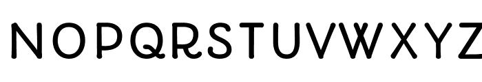 Autour-Regular Font UPPERCASE