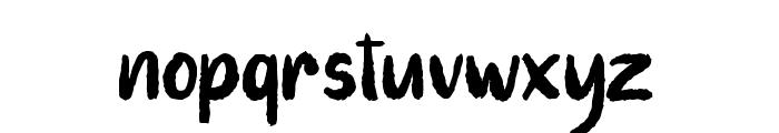 Auttentic Font LOWERCASE