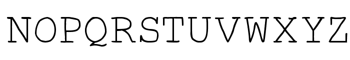 Autumn Font UPPERCASE