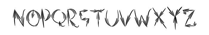 AutumnTwo Font LOWERCASE