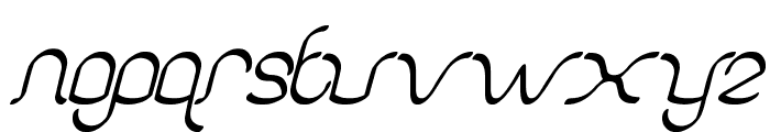 authentic love Font LOWERCASE