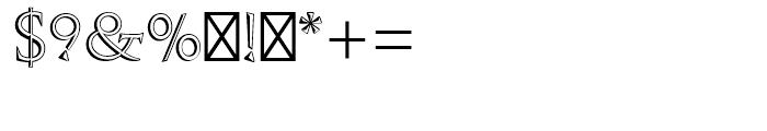 Augustea Open Regular Font OTHER CHARS