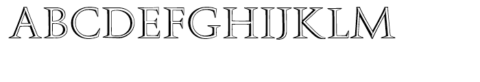 Augustea Open Regular Font UPPERCASE