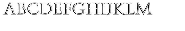 Augustea Open Regular Font LOWERCASE