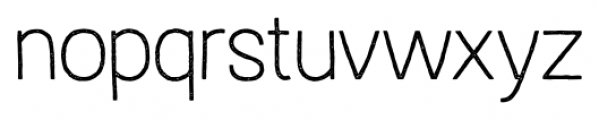Austral Sans Stamp Thin Font LOWERCASE