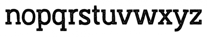Austral Slab Stamp Regular Font LOWERCASE