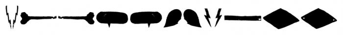Australia Skate Dingbats One Font LOWERCASE