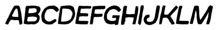 Australia Skate Italic Font UPPERCASE