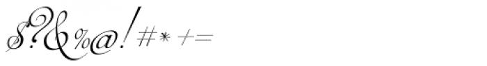 Auberge Script Basic Five Font OTHER CHARS
