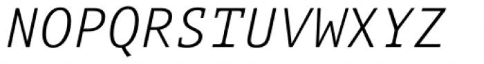 Aubusson Light Italic Font UPPERCASE