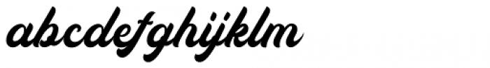 Auckland Script Regular Font LOWERCASE