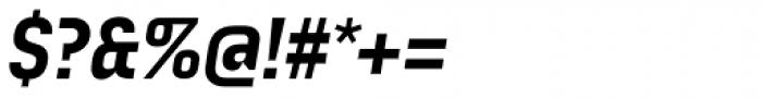 Audimat 3000 Mi-gras Italique Font OTHER CHARS