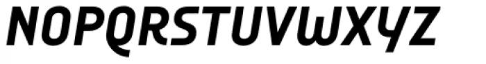 Audimat 3000 Mi-gras Italique Font UPPERCASE