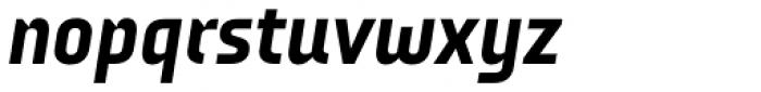 Audimat 3000 Mi-gras Italique Font LOWERCASE