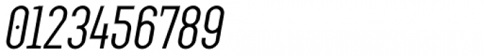 Augmento Condensed Italic Font OTHER CHARS