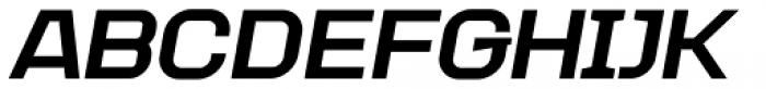 Augmento Extended Black Italic Font UPPERCASE