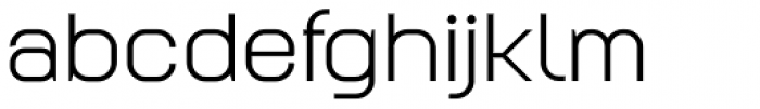 Augmento Extended Regular Font LOWERCASE