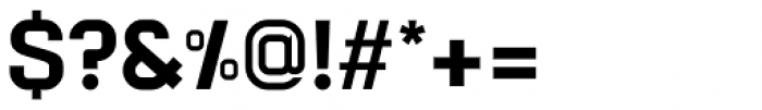 Augmento Normal Black Font OTHER CHARS