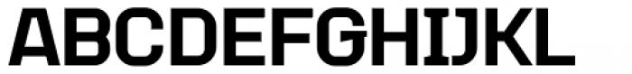 Augmento Normal Black Font UPPERCASE