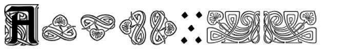Augsburger Ornamente Font UPPERCASE