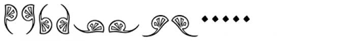 Augsburger Ornamente Font LOWERCASE