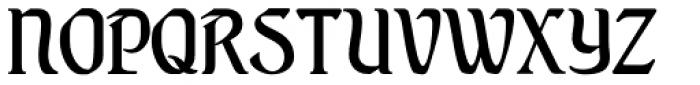 Augsburger Schrift Font UPPERCASE