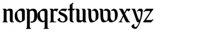 Augsburger Schrift Font LOWERCASE