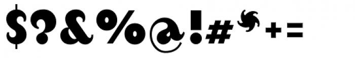 August Black Alternate Font OTHER CHARS