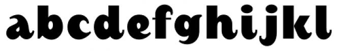 August Black Alternate Font LOWERCASE