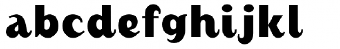 August Bold Alternate Font LOWERCASE