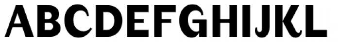 August Medium Alternate Font UPPERCASE