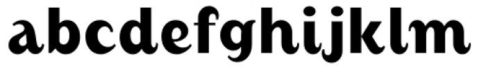 August Medium Alternate Font LOWERCASE