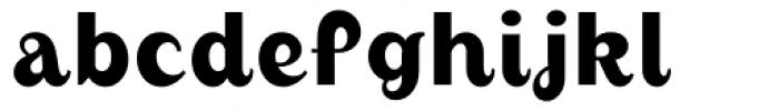 August Medium Font LOWERCASE