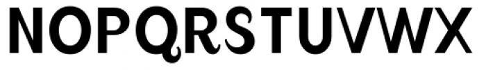 August Regular Alternate Font UPPERCASE