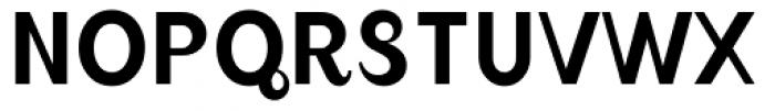 August Regular Font UPPERCASE