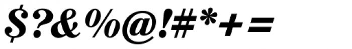 Augustea BQ Bold Italic Font OTHER CHARS