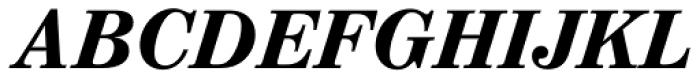 Augustea BQ Bold Italic Font UPPERCASE
