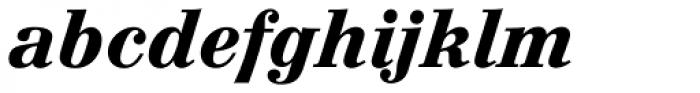 Augustea BQ Bold Italic Font LOWERCASE