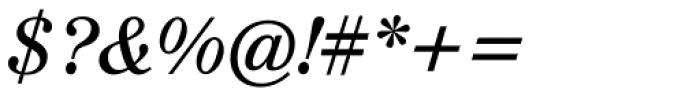 Augustea BQ Italic Font OTHER CHARS