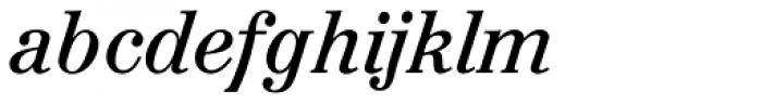 Augustea BQ Italic Font LOWERCASE