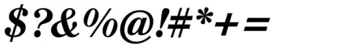 Augustea BQ Medium Italic Font OTHER CHARS
