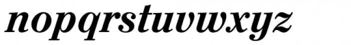 Augustea BQ Medium Italic Font LOWERCASE